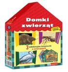 Domki zwierząt 3 edukacyjne książeczki o zwierzętach w sklepie internetowym Booknet.net.pl