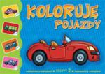 Koloruję pojazdy Zeszyt 2 - malowanka z naklejkami w sklepie internetowym Booknet.net.pl