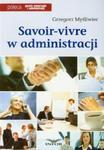 Savoir vivre w administracji w sklepie internetowym Booknet.net.pl