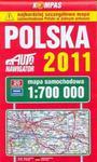 Polska 2011. Mapa samochodowa 1:700 000 w sklepie internetowym Booknet.net.pl