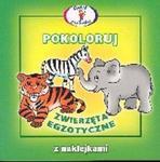 Pokoloruj Zwierzęta egzotyczne w sklepie internetowym Booknet.net.pl