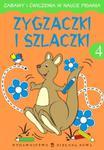 Zygzaczki i szlaczki 4 Zabawy i ćwiczenia w sklepie internetowym Booknet.net.pl
