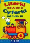 Literki od A do Z. Cyferki od 1 do 10. w sklepie internetowym Booknet.net.pl