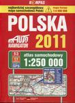 Polska 2011. Atlas samochodowy 1:250 000 w sklepie internetowym Booknet.net.pl