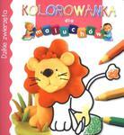 Dzikie zwierzęta. Kolorowanka dla maluchów w sklepie internetowym Booknet.net.pl