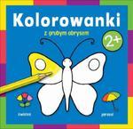 Kolorowanka z grubym obrysem Na dworze w sklepie internetowym Booknet.net.pl