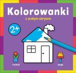 Kolorowanka z grubym obrysem W domu w sklepie internetowym Booknet.net.pl