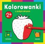 Kolorowanka z grubym obrysem W ogrodzie w sklepie internetowym Booknet.net.pl