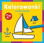 Kolorowanka z grubym obrysem Podróż w sklepie internetowym Booknet.net.pl