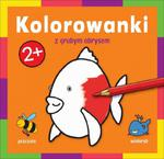 Kolorowanka z grubym obrysem Zwierzęta w sklepie internetowym Booknet.net.pl