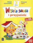Wesoła szkoła i przyjaciele. Klasa 3, szkoła podstawowa, część 1. Karty pracy w sklepie internetowym Booknet.net.pl