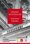 Prawo naturalne Natura prawa w sklepie internetowym Booknet.net.pl