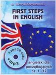 First Steps in English 1 Intensywny kurs języka angielskiego dla początkujących z CD i MP3 w sklepie internetowym Booknet.net.pl