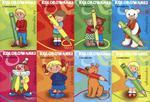Kolorowanki z naklejkami dla najmłodszych. Maxi w sklepie internetowym Booknet.net.pl