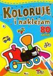 Koloruję i naklejam 3 w sklepie internetowym Booknet.net.pl