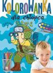 Kolorowanka dla chłopca zeszyt 1 w sklepie internetowym Booknet.net.pl
