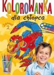 Kolorowanka dla chłopca. Zeszyt 2 w sklepie internetowym Booknet.net.pl