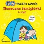 Bolek i Lolek Słoneczne łamigłówki w sklepie internetowym Booknet.net.pl