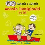 Bolek i Lolek Wesołe łamigłówki 4-5 lat w sklepie internetowym Booknet.net.pl