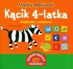 Mądry Maluszek. Kącik 4-latka. Książeczka z nalepkami w sklepie internetowym Booknet.net.pl