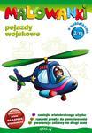 Malowanki 3 Pojazdy wojskowe + pisak w sklepie internetowym Booknet.net.pl