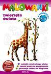 Malowanki 4 Zwierzęta świata + pisak w sklepie internetowym Booknet.net.pl