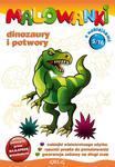 Malowanki 5 Dinozaury i potwory + pisak w sklepie internetowym Booknet.net.pl