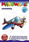 Malowanki 8 Samoloty + pisak w sklepie internetowym Booknet.net.pl