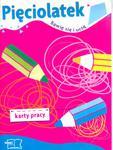 PIĘCIOLATEK Bawię się i uczę KARTY PRACY w sklepie internetowym Booknet.net.pl