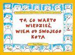 To co warto wiedzieć wiem od swojego kota w sklepie internetowym Booknet.net.pl