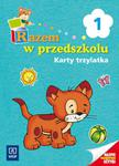 Razem w przedszkolu 1 Karty trzylatka w sklepie internetowym Booknet.net.pl