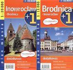 Inowrocław Brodnica plan miasta 1:20 000 w sklepie internetowym Booknet.net.pl