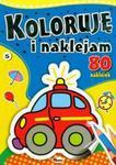 Koloruję i naklejam 5 w sklepie internetowym Booknet.net.pl
