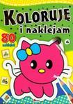 Koloruję i naklejam 6 w sklepie internetowym Booknet.net.pl