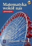 Matematyka wokół nas 1 Podręcznik z płytą CD w sklepie internetowym Booknet.net.pl