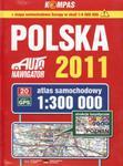 Atlas samochodowy 1:300 000. Polska 2011 w sklepie internetowym Booknet.net.pl