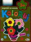 Koloruj angielski na wesoło 3+ w sklepie internetowym Booknet.net.pl