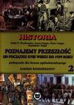 HISTORIA Poznajemy przeszłość Klasa 2 Liceum Podręcznik ZR w sklepie internetowym Booknet.net.pl