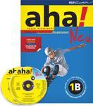 Aha! Gimnazjum, część 1B. Język niemiecki. Podręcznik z ćwiczeniami (2xCD) w sklepie internetowym Booknet.net.pl
