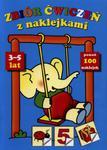 Zbiór ćwiczeń z naklejkami (3-5 lat) w sklepie internetowym Booknet.net.pl