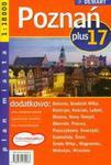 Poznań plus 17 atlas miast 1:18 000 w sklepie internetowym Booknet.net.pl