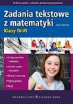 Zadania tekstowe z matematyki Klasy IV-VI w sklepie internetowym Booknet.net.pl
