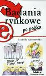 Badania rynkowe po polsku w sklepie internetowym Booknet.net.pl