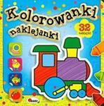 Kolorowanki naklejanki w sklepie internetowym Booknet.net.pl