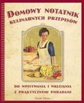 Domowy notatnik kulinarnych przepisów w sklepie internetowym Booknet.net.pl