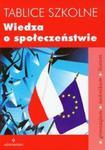 Tablice szkolne Wiedza o społeczeństwie w sklepie internetowym Booknet.net.pl