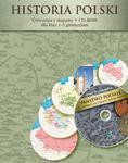 Historia Polski. Klasy 1-3, gimnazjum. Ćwiczenia z mapami + CD-ROM w sklepie internetowym Booknet.net.pl