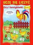 Uczę się liczyć Gry i łamigłowki 5-6 lat w sklepie internetowym Booknet.net.pl