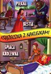Książeczka z naklejkami. Piękna i Bestia / Śpiąca Królewna w sklepie internetowym Booknet.net.pl