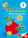 Razem w przedszkolu. Edukacja przedszkolna. Część 1. Karty czterolatka w sklepie internetowym Booknet.net.pl
